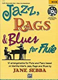 img - for Jazz, Rags & Blues for Flute (Book & CD) book / textbook / text book