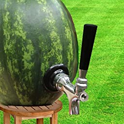 Watermelon and Pumpkin Tap Kit with Self Closing Faucet