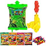 Ben 10 Water Gun Pichkari Back Pack Licenced Product With 4 Gulal And Free Balloons
