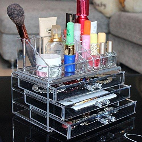<p>¿Quieres mantener tu maquillaje y joyas organizados y en un solo lugar? Comprar este cuadro Organizador de maquillaje</p>