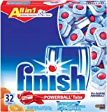 Finish Powerball Tablets, Orange Scent, 32-Count