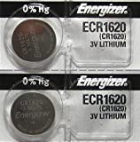 Energizer CR1620 Lithium 3V Coin Cell Battery
