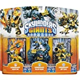 Skylanders Giants - Triple 3 Pack Exclusive Legendary Jet-Vac / Legendary Slam Bam / Legendary Ignitor