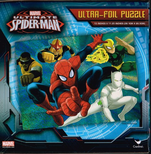 Marvel Ultimate Spider-Man Ultra-Foil Puzzle - 1
