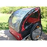 Housse anti-pluie pour Remorque Vélo Enfant - convenable pour toutes les Remorques de Blue Bird, Kranich et Red Loon