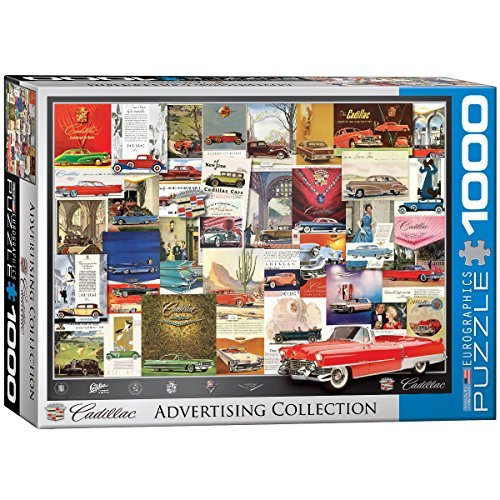 EuroGraphics-Vintage-Car-ADS-Cadillac-Puzzle-1000-Piece-by-Eurographics-Toys