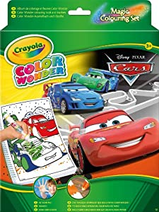 Crayola 55502DM - Color Wonder Cars 2
