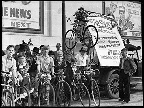 poster-malvern-star-bicycle-competition-stanmore-theatre-taken-acme-theatres-4-may-1946-sam-hood-for