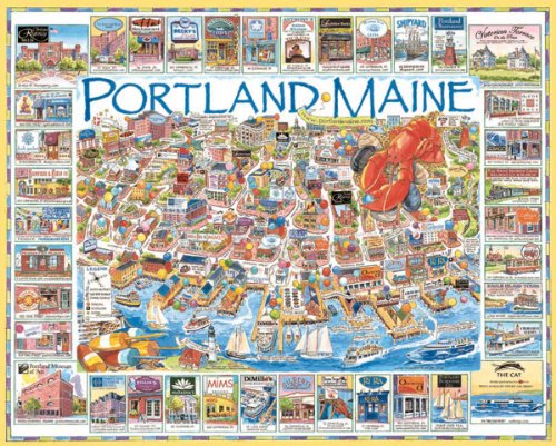 61NGEzPzheL Cheap  White Mountain Puzzles Portland Maine