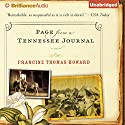 Page From A Tennessee Journal Audiobook by Francine Thomas Howard Narrated by Casaundra Freeman