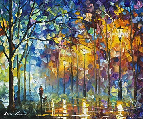 ***SUMMER SALE!*** FRIENDS FOREVER is the ONE-OF-A-KIND, ORIGINAL hand painted oil painting on Canvas by Leonid AFREMOV