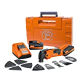 FEIN AFMM18QSL Cordless MultiMaster StarlockPlus Oscillating Multi-Tool with snap-fit accessory change (Color: Orange)