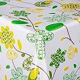 casa pura® Wachstischdecke Artful   abwaschbar   ideale Größe wählbar, Meterware (2000x140cm)