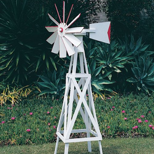 Practical uses and considerations for having a windmill water pump or aquaculture windmill on your small farm or for your home. Windmill Power to pump water.