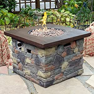 Red ember galiano propane fire pit table for Amazon prime fire pit