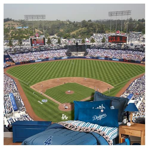 Mural wallpaper xcombear download photos textures for Dodger stadium wall mural