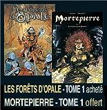 echange, troc  - 2 BD pour le prix d'1 : Les forêts d'Opale, tome 1 + Mortepierre, tome 1