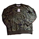 Givenchy Authentic $890 Green Sweater Size M Cuban Fit (Color: Green, Tamaño: Medium)