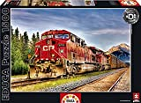 Educa Borras Puzzle Canadian Pacific Train Entering Banff K. Kaminesky (1500 Pieces)