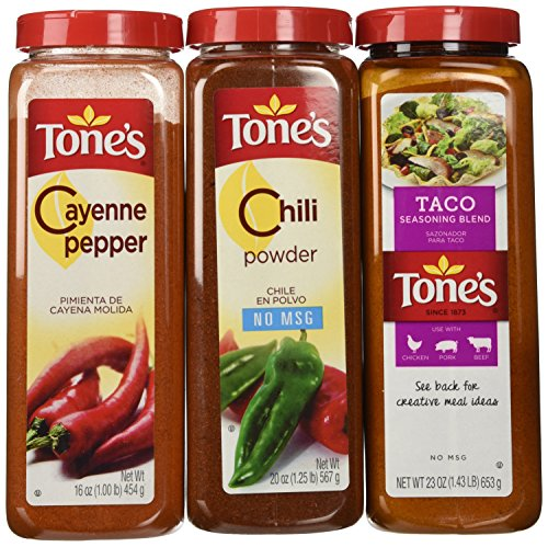 """Tone""""s seasonings to cook your best!"""
