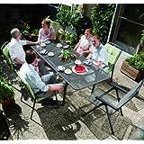 MWH Garden & Home Savoy Klappsessel e-grau