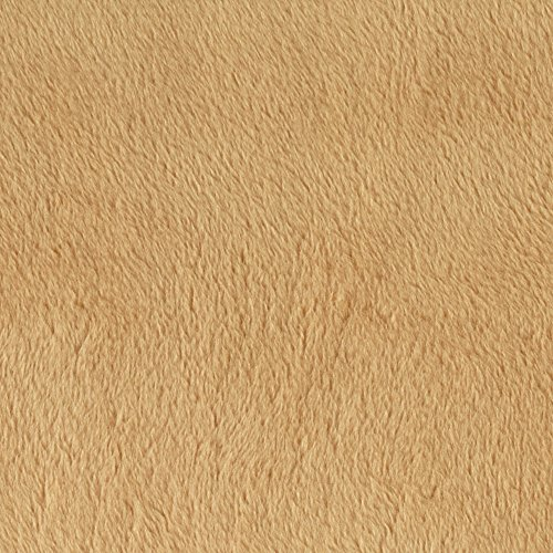 Minky Cuddle 3- 90'' Camel Fabric front-1020783