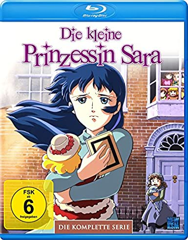 Die kleine Prinzessin Sarah, Blu-ray