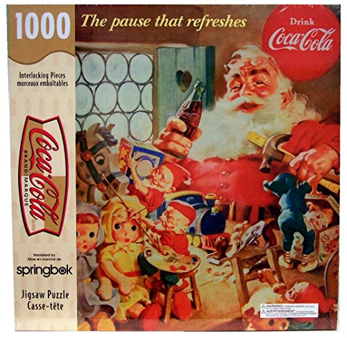 Coca-Cola, The Pause That Refreshes; 1000 Piece Puzzle