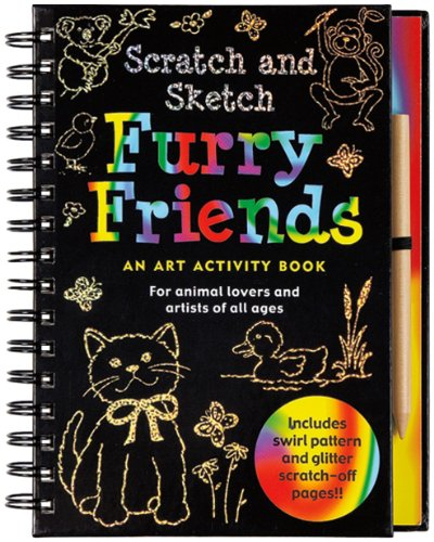 Scratch and Sketch Furry Friends: An Art Activity Book for Animal Lovers and Artists of All Ages (Scratch & Sketch) (Drawing Furries compare prices)