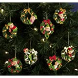 Santas Helpers Elves Christmas Collectible Ornaments By Collections Etc