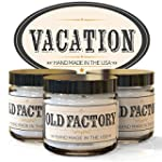 Old Factory Candles VACATION set of 3...