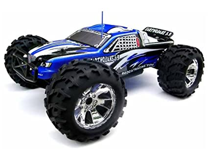 All Black Monster Truck Monster Truck Blue/black