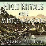 High Rhymes and Misdemeanors: A Poetic Death Mystery | Diana Killian
