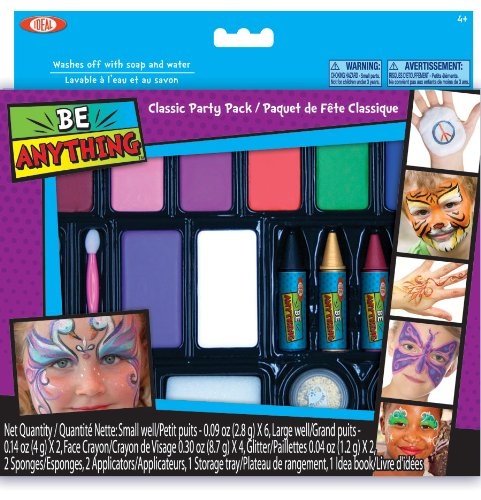 Ideal Face Painting Kit Classic Party Pack - 1