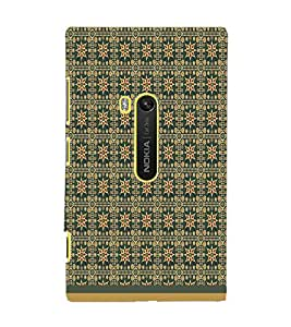 PrintDhaba Pattern D-1589 Back Case Cover for NOKIA LUMIA 920 (Multi-Coloured)