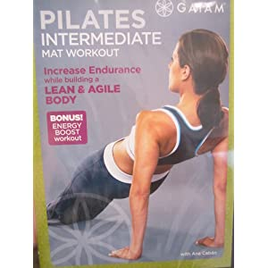 Dance Body Pilates Intermediate Mat Workout With Ana Caban