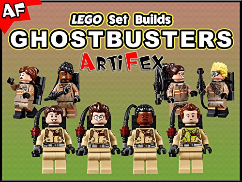 Clip: Lego Set Builds Ghostbusters - Season 1