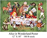 Alice in Wonderland Poster - 12
