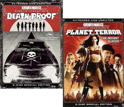 Grindhouse (Planet Terror / Death Proof ) - Extended & Unrated (2-Pack