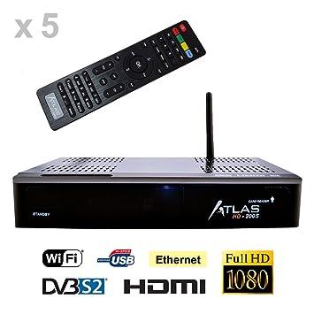 x5 Récepteurs satellite ATLAS HD200S