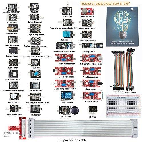 sunfounder-37-modules-raspberry-pi-sensor-kit-26-pin-gpio-extension-board-jump-wires