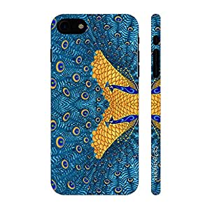 Enthopia Designer Hardshell Case The Peacock's Reflection Back Cover for Apple iPhone 7