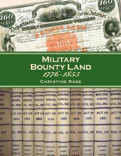 Military Bounty Land, 1776-1855