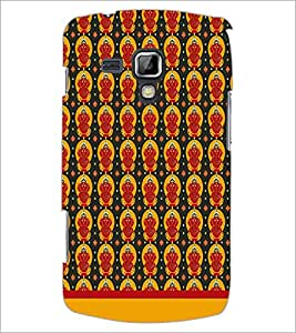 Printdhaba Lord Ganesh Pattern D-1551 Back Case Cover For Samsung Galaxy S Duos S7562
