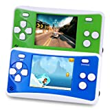 2 Packs Handheld Game Console for Children,The 80's Arcade Retro Game Player with 2.5