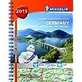 Germany, Benelux, Austria, Switzerland, Czech Republic 2015 - Michelin tourist & motoring atlas A4 spiral (Michelin Tourist and Motoring Atlas)