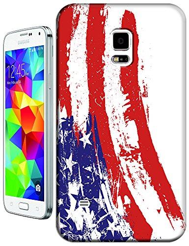 Sangu The American Flag Abstract Hard Tpu Samsung Galaxy S5 Case