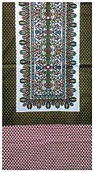 Sukriti Women's Cotton Unstitched Kurta Material (Light Pink)