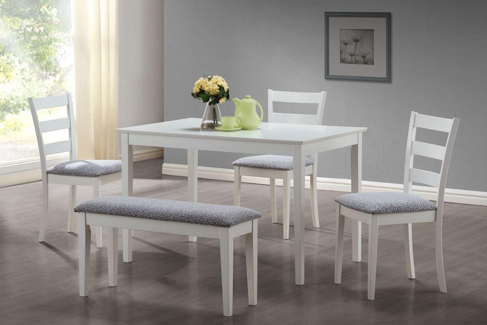 Space Saver 5 Piece Table And Chair Set: Monarch Specialties 5-Piece,Amazon   Monarch Veneer 3 Piece Space Saver Table Set  Pearl