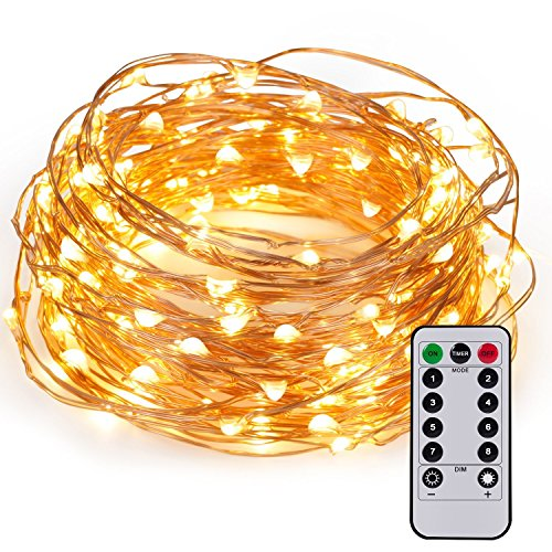 Kohree-60LEDs-Fairy-String-Lights-with-Remote-Control-AA-Battery-Powered-on-20ft6M-Long-Ultra-Thin-String-Copper-WireSeasonal-Decor-Rope-Lights-For-Christmas-WeddingParties-With-Battery-Box